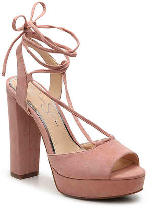Women's Avany Sandal -Blush $98 thestylecure.com