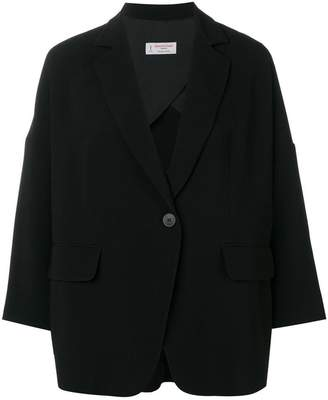 Alberto Biani oversized button blazer