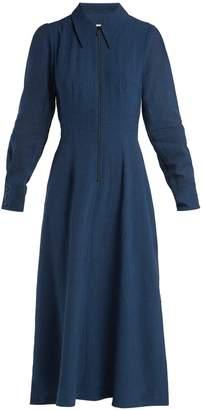 DAY Birger et Mikkelsen CEFINN Zip-front voile dress