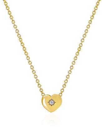 Johnny Was 14K Gold Home Is Where The Heart Is Necklace