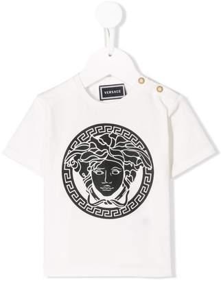 Versace logo stamp T-shirt
