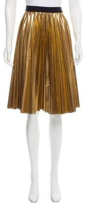 DKNY Metallic Pleated Skirt w/ Tags