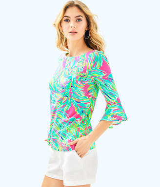 Lilly Pulitzer Womens Fontaine Top