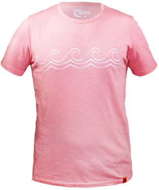 Celtic Tonn Wave Tee Pink