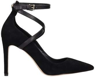 645a5cdfb3e Michael Kors Black Leather Heels - ShopStyle UK