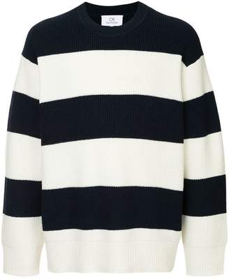 CK Calvin Klein block stripe jumper