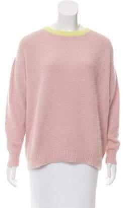 Tanya Taylor Angora & Wool-Blend Sweater