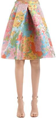 Moschino Floral Jacquard Skirt