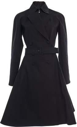 Alaia Mackintosh Long Princess Coat