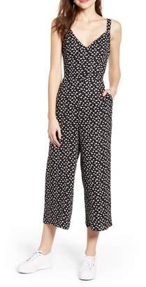 b8557aafa9a7 Black Jumpsuit Tie Back - ShopStyle