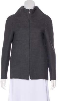 Calvin Klein Collection Funnel Neck Jacket