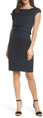 Harper Rose Ruffle Detail Sheath Dress