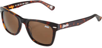Superdry San Plastic Universal-Fit Square Sunglasses