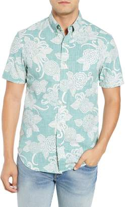 Reyn Spooner Opti Mums Regular Fit Sport Shirt