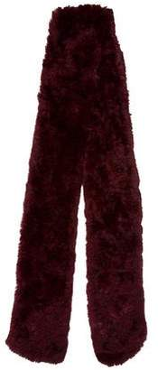 Cassin Sherry Fur Knit Scarf