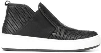 Donald J Pliner CAROLE, Perforated Nappa Leather Slip-On Sneaker