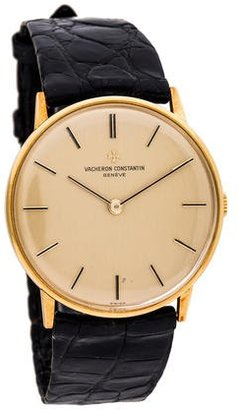 Vacheron Constantin Vintage Watch $3,495 thestylecure.com