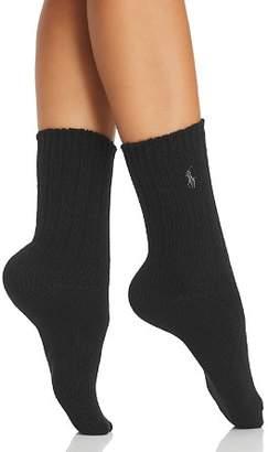 Ralph Lauren Hiker Slouch Socks