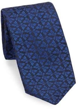 Charvet Foliage Silk Tie