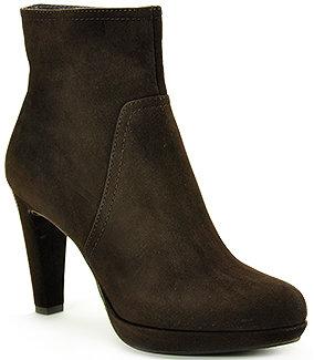 Gastone Lucioli 3130 - Brown Suede Ankle Bootie