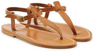 K. Jacques Picon Leather Sandals