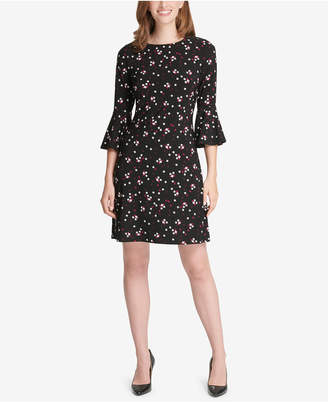 Tommy Hilfiger Bell-Sleeve A-Line Dress