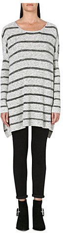 Free People Knitted stripe tunic