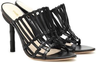 Cult Gaia Ark leather heels