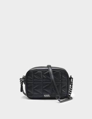 Clearance Pre Order Rocky Choupette Tambour Crossbody Bag in Light Rose Smooth Calf Leather Karl Lagerfeld Newest Cheap Online CkLQDPZHh6