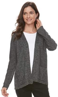 Croft & Barrow Women's Textured Cardigan Sweater