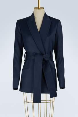 Pallas Satin belted jacket