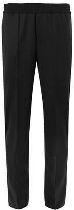 Neil Barrett Slim-Fit Tapered Stretch-Virgin Wool Trousers