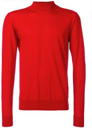 Versace turtleneck slim-fit jumper