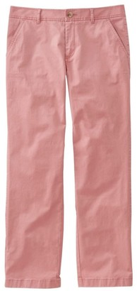 L.L. Bean L.L.Bean Women's Ultimate Chinos, Favorite Fit Cropped