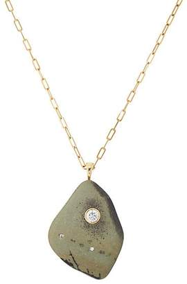 Cvc Stones Women's Foresta Pendant Necklace - Green