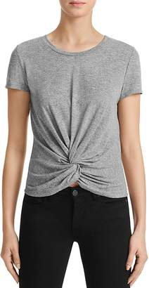 AQUA Knot Tee - 100% Exclusive $48 thestylecure.com