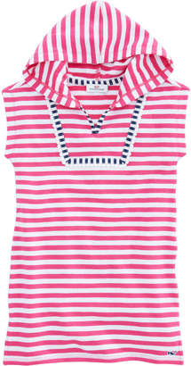 Vineyard Vines Girls Short-Sleeve Striped Terry Cover-Up