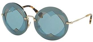 Miu Miu 01SS VA06P2 01SS Round Sunglasses Lens Category 2 Size 6