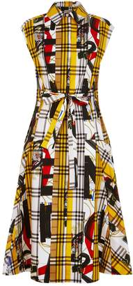 Burberry Archive Scarf Print Check Shirt Dress