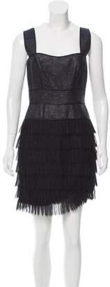 Zac Posen Sleeveless Woven Mini Dress w/ Tags