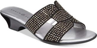 Karen Scott Esmayy Slide-On Sandals, Created for Macy's Women's Shoes