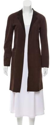 Marni Suede Knee-Length Coat