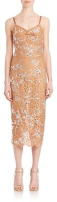 Michael Kors Collection Crystal-Encrusted Lace Slip Dress $7,995 thestylecure.com