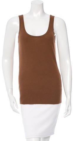 Michael Kors Sleeveless Cashmere Top w/ Tags