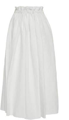 Loewe Broderie Anglaise Drawstring Skirt