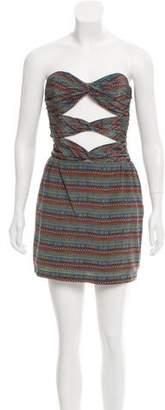 Mara Hoffman Cutout Strapless Dress