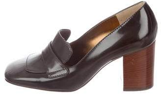 Dolce & Gabbana Patent Leather Loafer Pumps