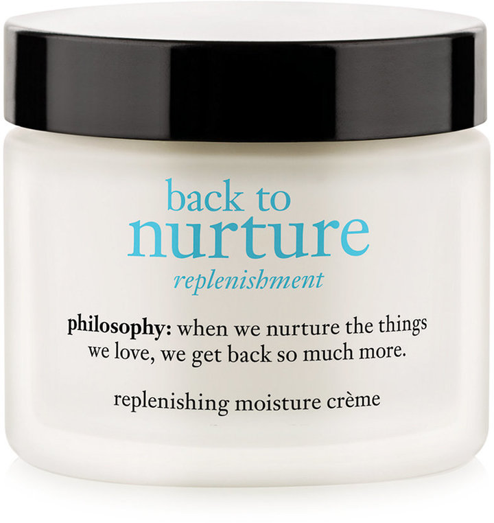 Philosophy Philosophy Back To Nurture Replenishing Moisture Crème, 2 Oz