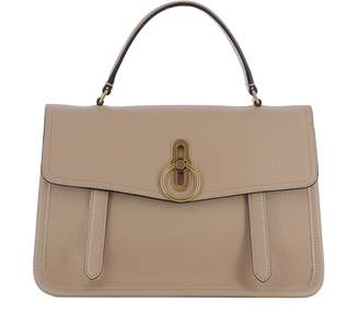 Mulberry Pink Leather Handle Bag