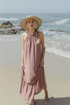 De Lacy DeLacy Halter Maxi Dress